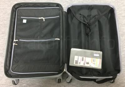 楽天スーツケースレンタルLEGEND WALKERメッシュポケット