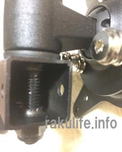 グリーンハウス モニターアーム4軸クランプ式GH-AMC03ボルト